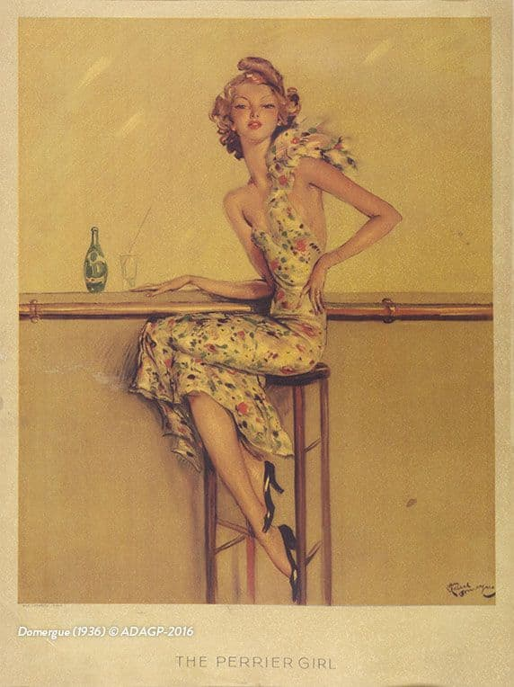 The Perrier Girl