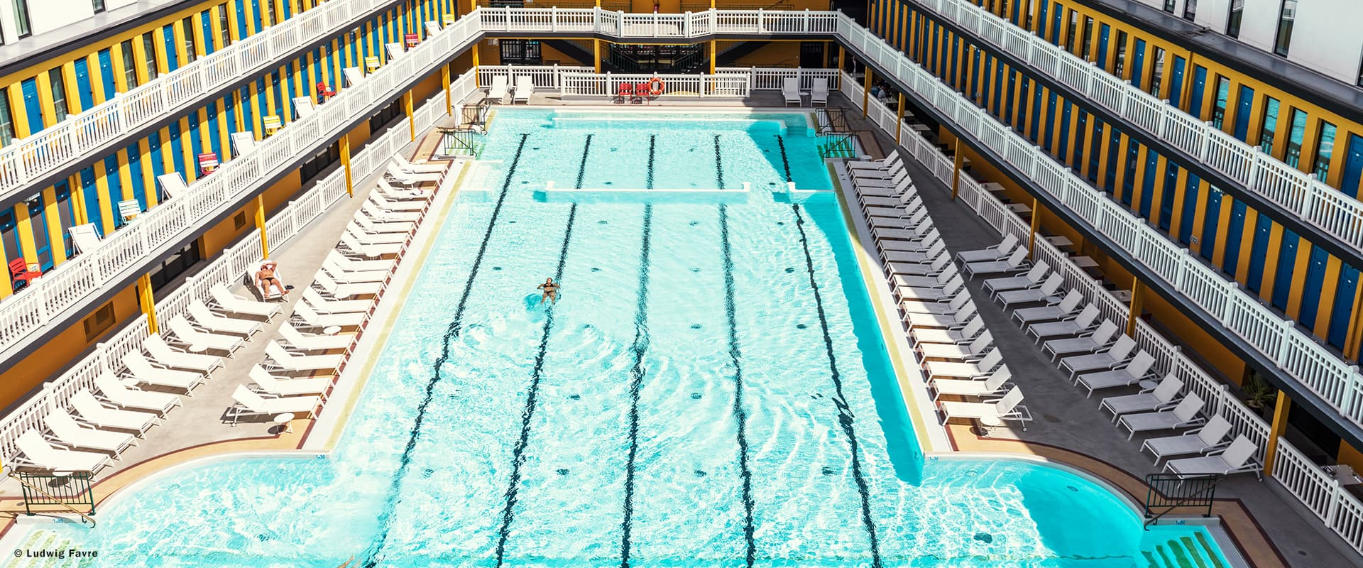 How to Pretend Your Local Public Pool is as Cool as Piscine Molitor's