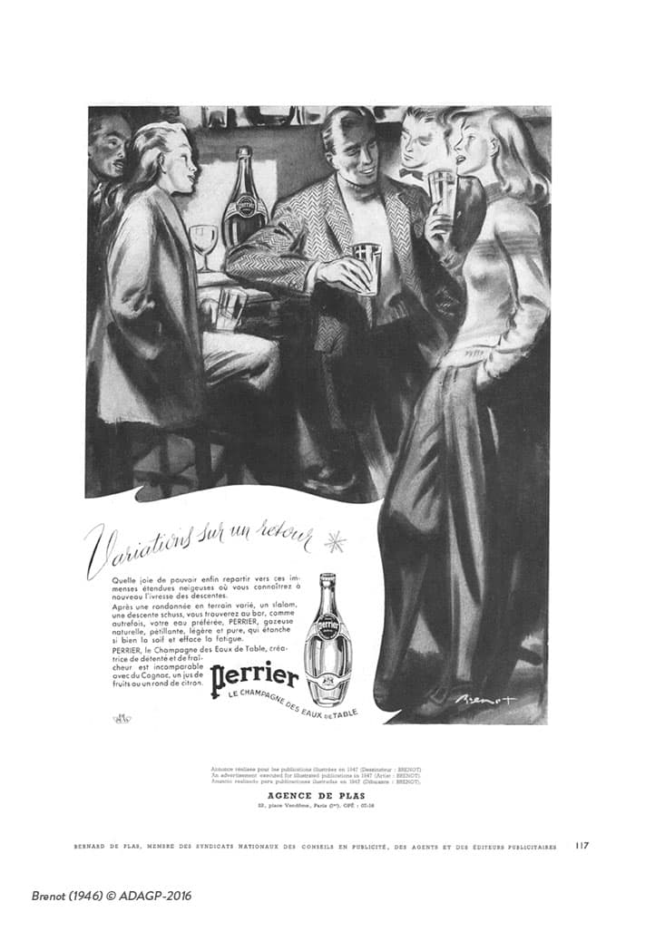 The Perrier Girl Brenot
