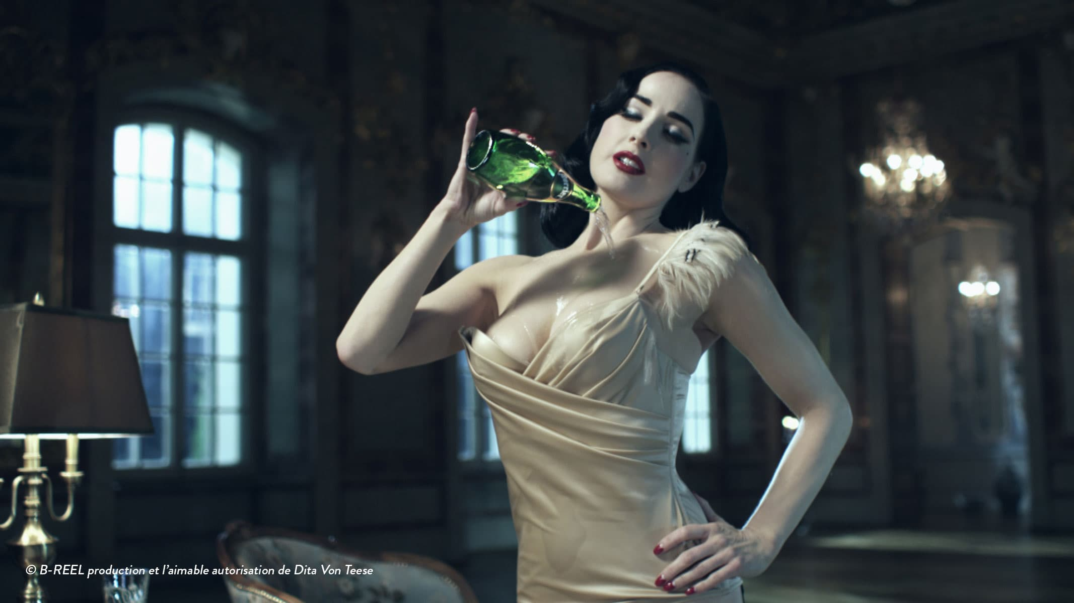 The New PERRIER® Girl