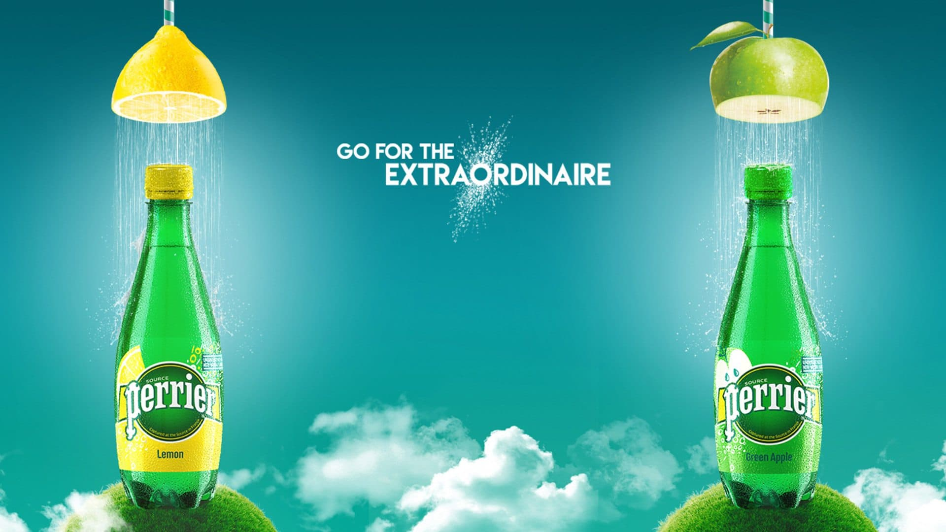 Perrier gets fruity