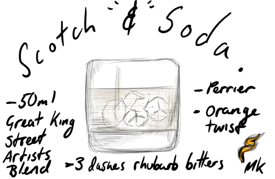 THE SCOTCH AND SODA