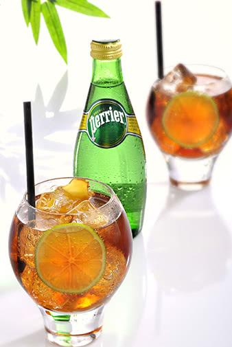 perrier guarana boost sparkling water mocktail recipe