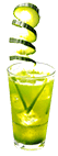 perrier green cocktail recipe