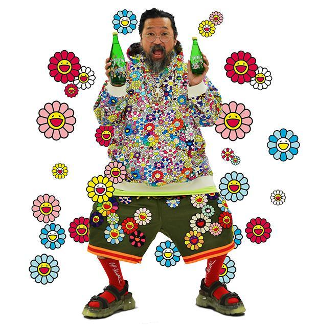 Takashi Murakami is the latest artist to have fun restyling the iconic and vibrant PERRIER® brand.